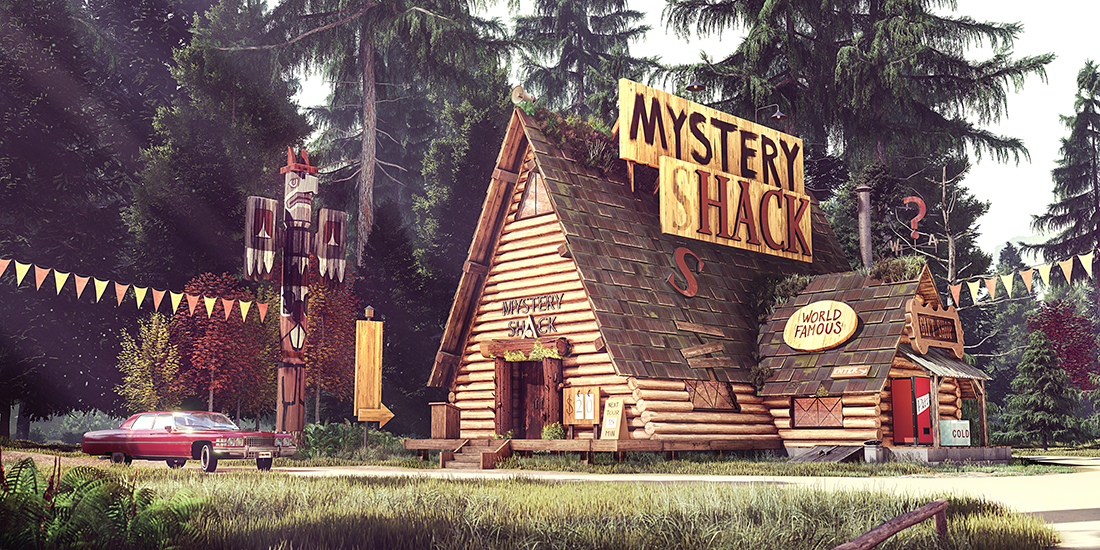 Mystery Shack From Gravity Falls